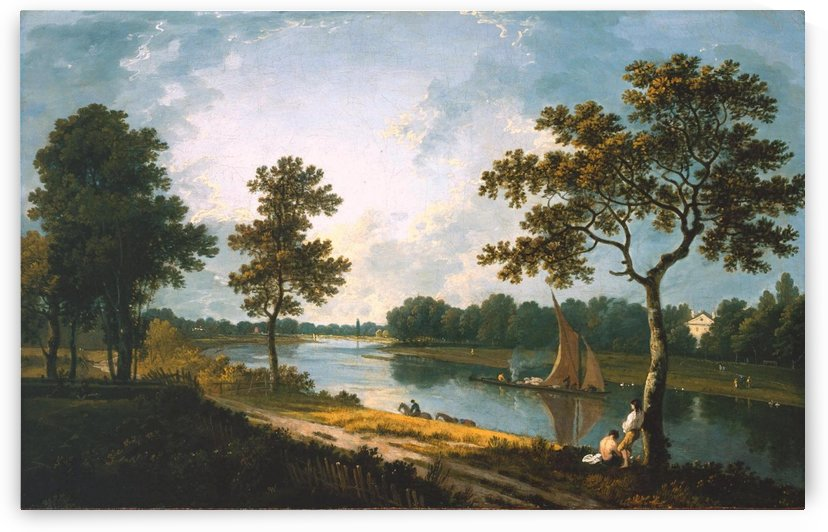 Large river by Richard Wilson