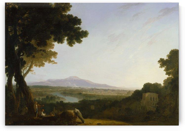 Rome from the villa Madama by Richard Wilson