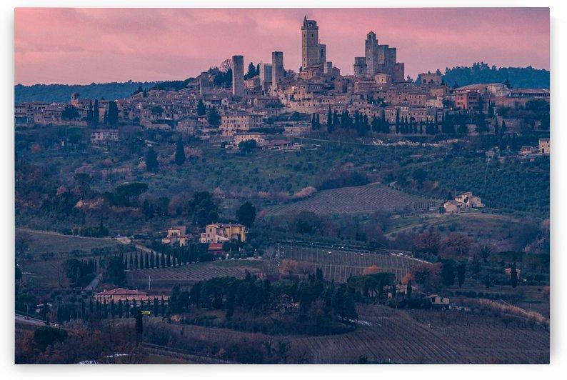 San Gimignano by Filippo Manaresi