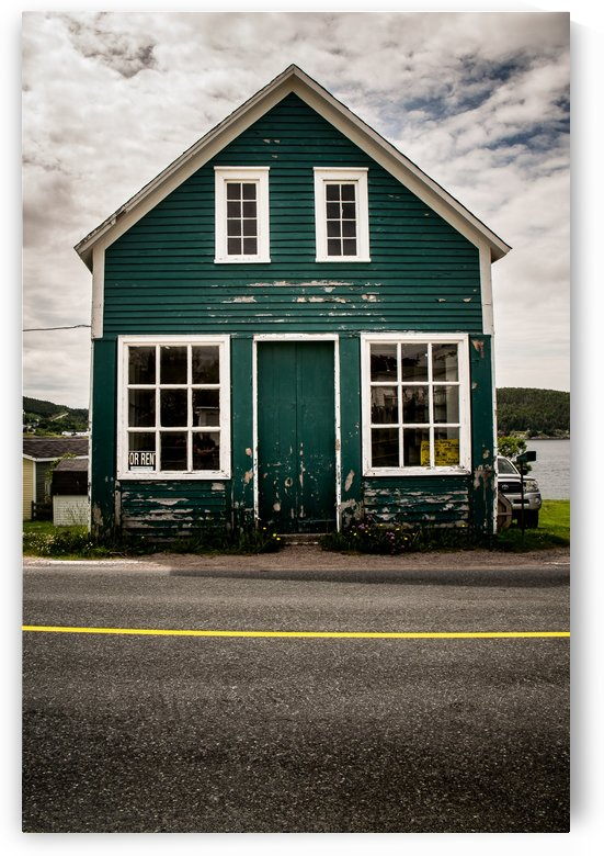 Turquoise House NS by Aimee Lambes