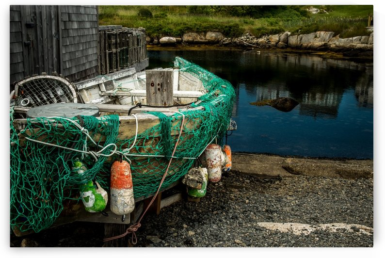 Turquoise Net NS by Aimee Lambes
