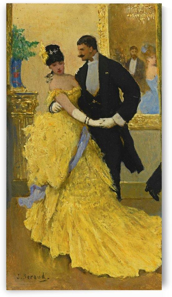 La danse by Antoine Watteau