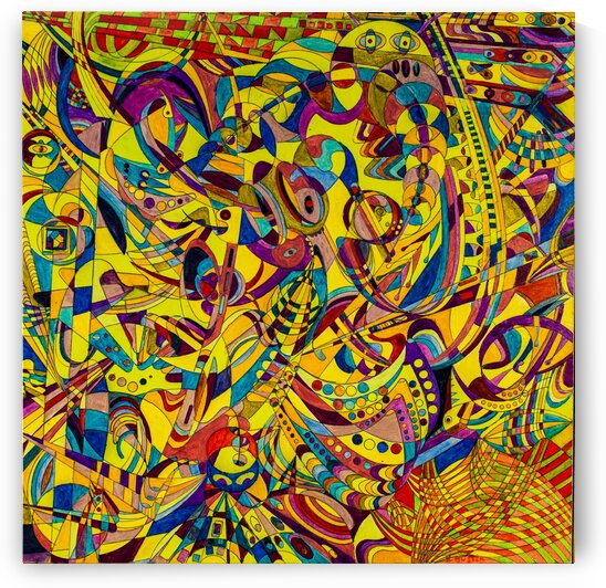 ABSTRACT SHAPES 14 by Keith Gustin