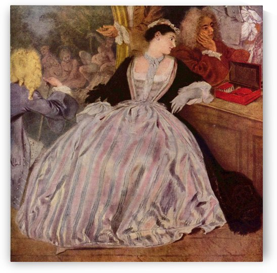 The Lady by Antoine Watteau