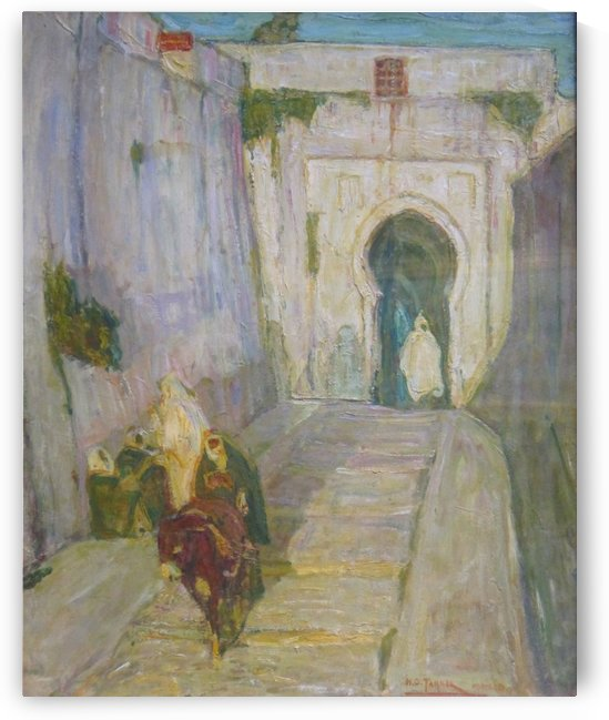Entrance to the Casbah by Henry Ossawa Tanner