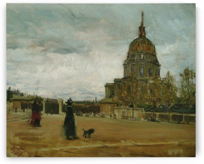 Les Invalides by Henry Ossawa Tanner