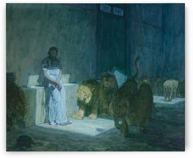 Daniel in the Lions by Henry Ossawa Tanner