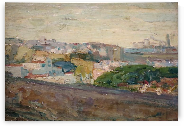 A View of Fez by Henry Ossawa Tanner