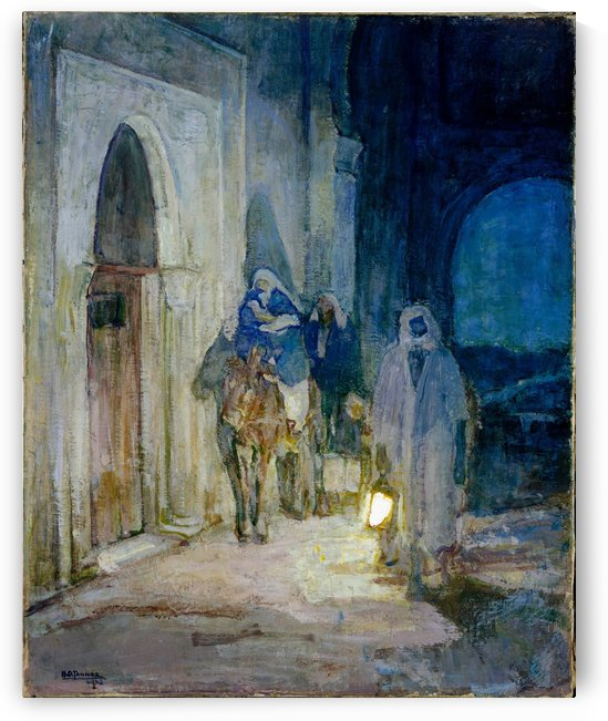 Flight into Egypt 1923 by Henry Ossawa Tanner