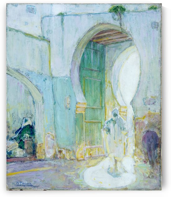 Gateway, Tangier by Henry Ossawa Tanner