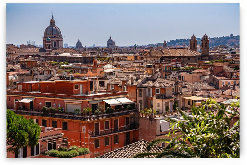 Roofs of Rome by Filippo Manaresi