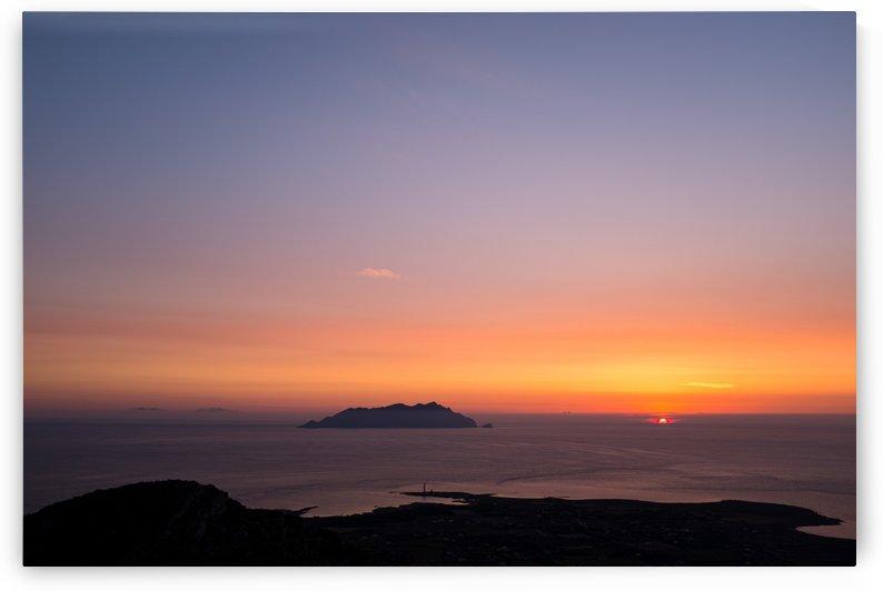 Sunset in Favignana by Filippo Manaresi