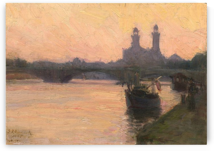 The Seine by Henry Ossawa Tanner