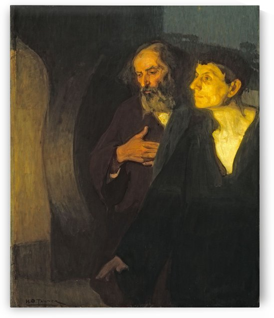 Two Disciples at the Tomb by Henry Ossawa Tanner