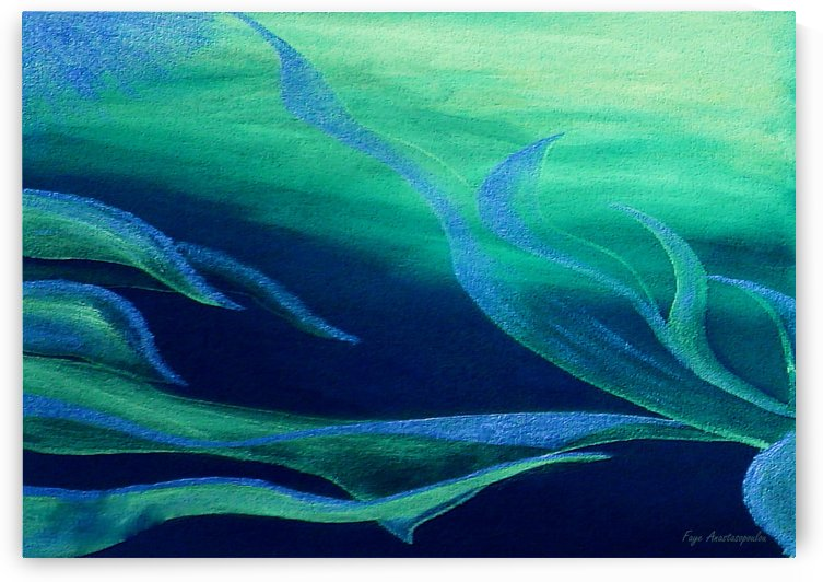 Emerald Flow by Faye Anastasopoulou
