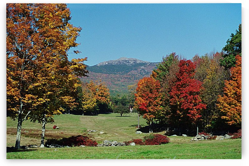Mount Monadnock - From Jaffrey New Hampshire by FoxHollowArt