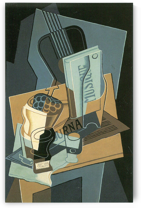 Sheet of Music by Juan Gris by Juan Gris