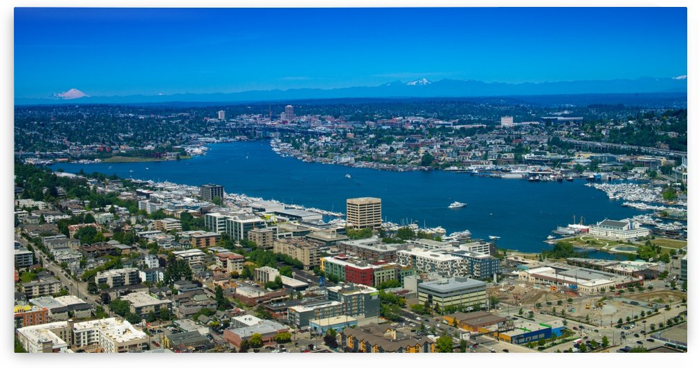 Lake Union Seattle Washington by Jonathan K  Webb