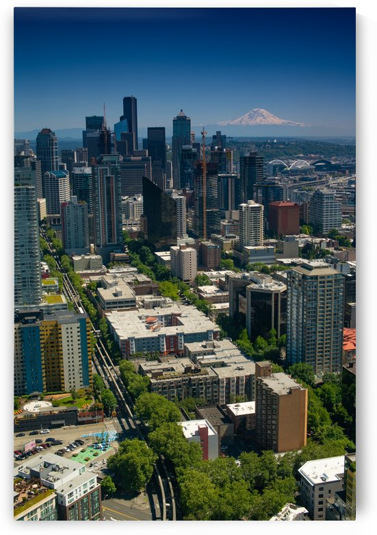Seattle Downtown by Jonathan K  Webb