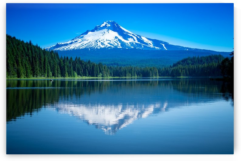 Mount Hood Reflection by Jonathan K  Webb