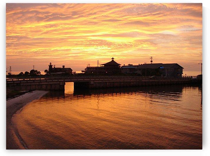 Cedar Key Sunset - Florida by FoxHollowArt
