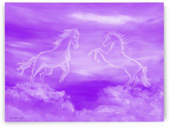 Spirit Horses by Faye Anastasopoulou