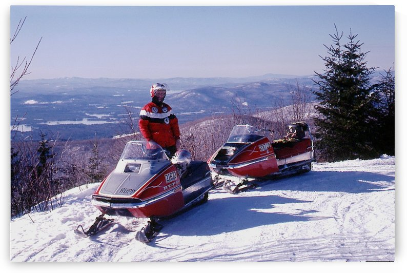 Bald Knob - New Hampshire - Rupp Riders by FoxHollowArt
