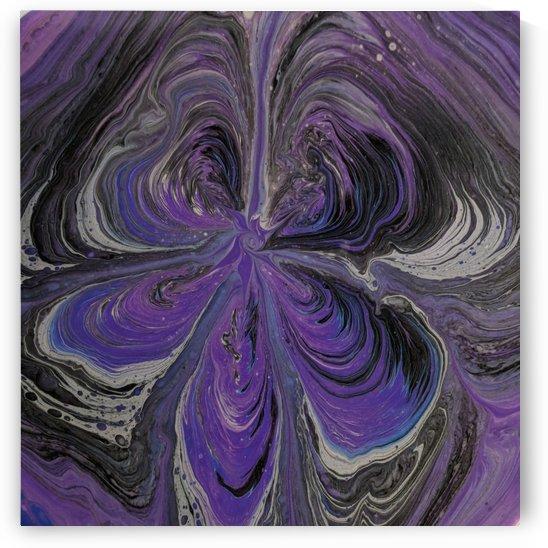 Purple swirled gateways by Deb Striker