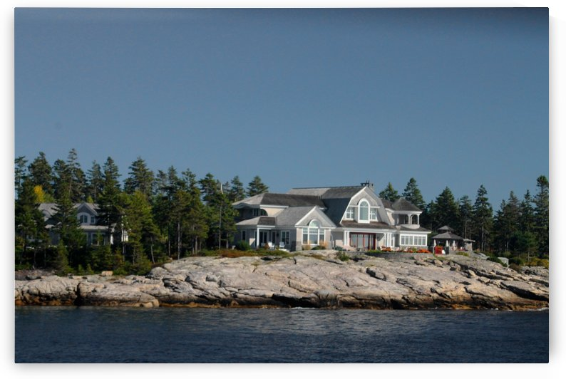 Ledge Top Estate - Coast Of Maine by FoxHollowArt