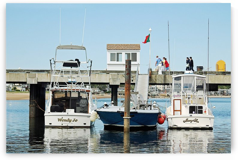 Provincetown Pier - Massachusetts by FoxHollowArt