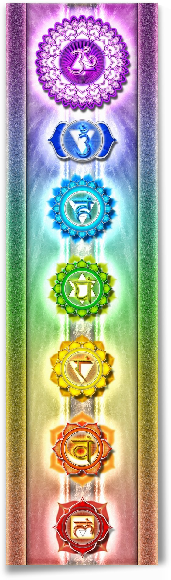 The Seven Chakras - Series I by Dirk Czarnota