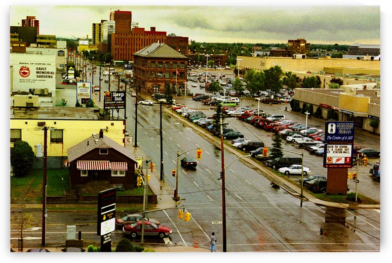Sault Ste Marie - Ontario Canada - On A Rainy Morning by FoxHollowArt