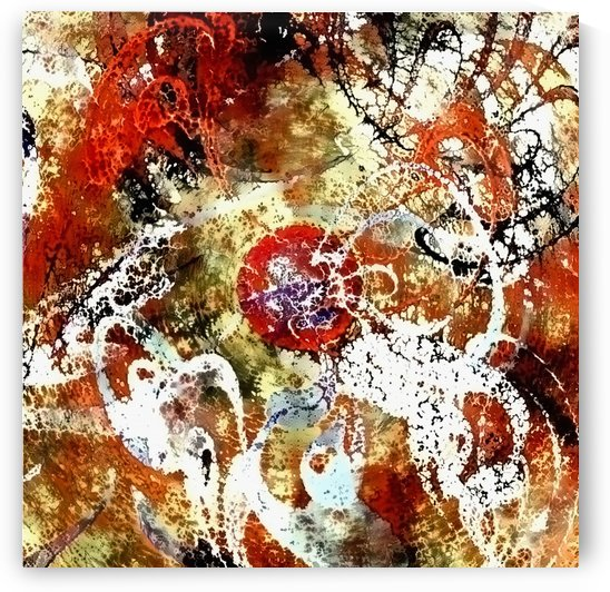Abstract Painting by Bruce Rolff