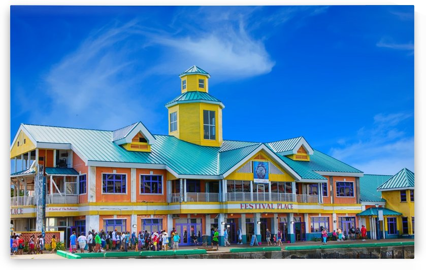 Festival Place in Nassau by Darryl Brooks