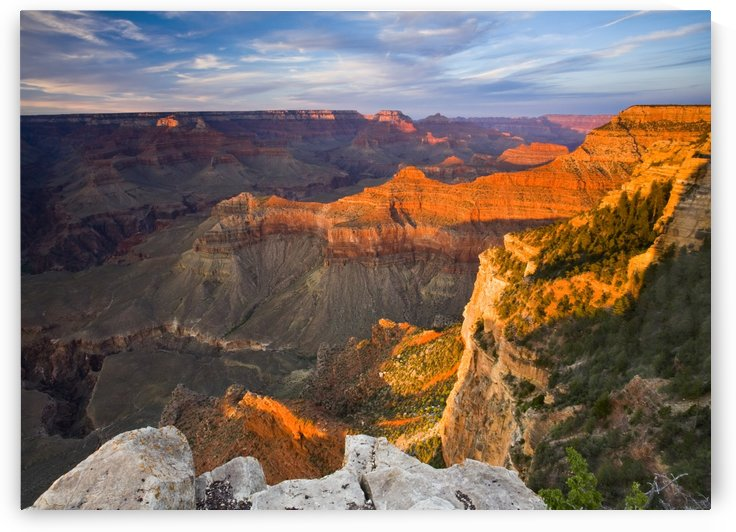 Glorious Canyon Sunset by Eliot Scher