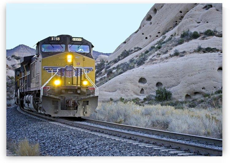 UP 5755 At Mormon Rocks by Eliot Scher