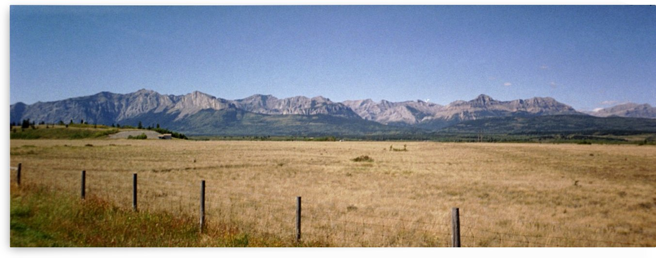 On The Flat Lands - Headed To Banff by FoxHollowArt