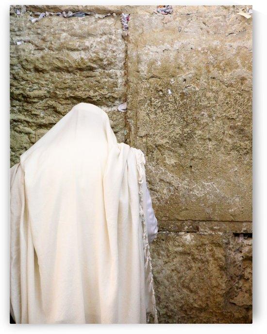 Prayer At The Kotel by Eliot Scher