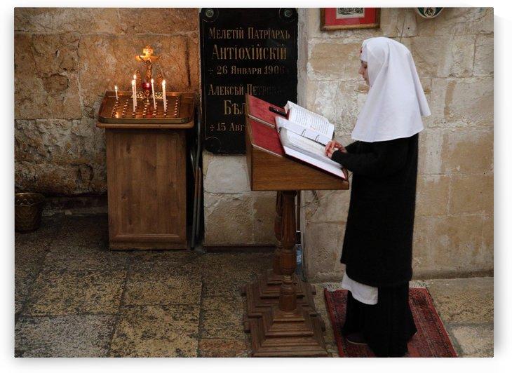 Greek Orthodox Nun by Eliot Scher