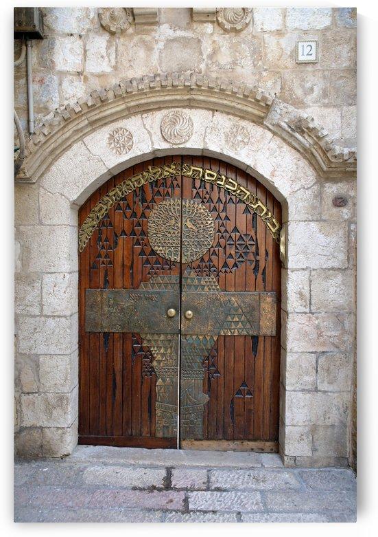 Jerusalem Door by Eliot Scher