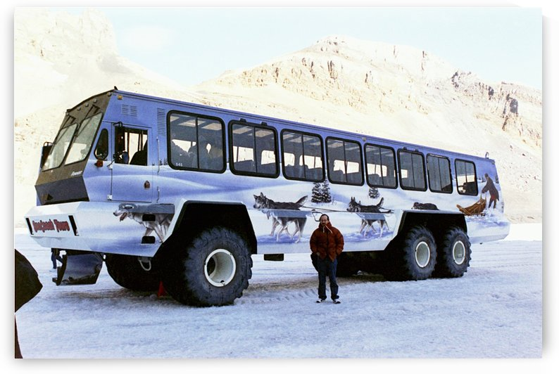 Ice Fields Transportation - Banff Canada by FoxHollowArt