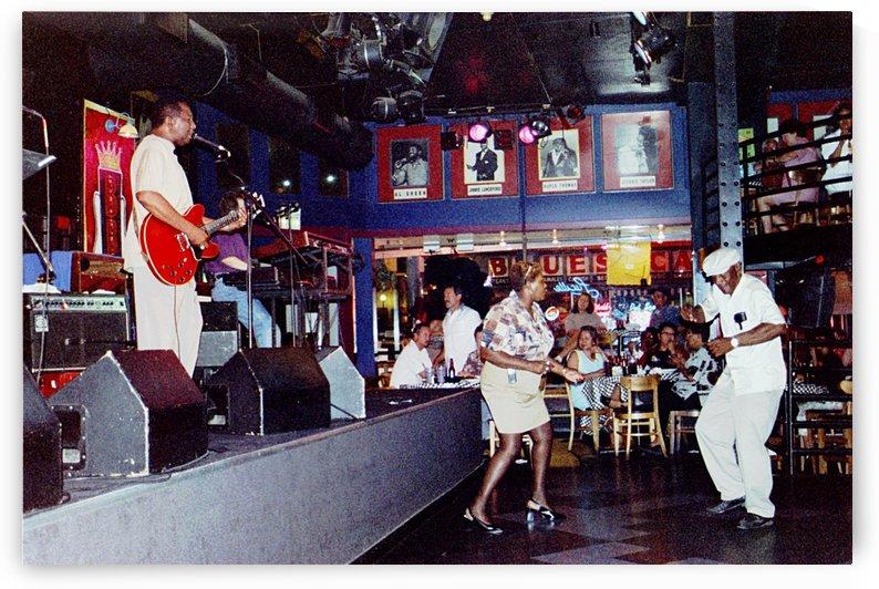 Fun Night At B.B. Kings Blues Club - Memphis Tennessee by FoxHollowArt