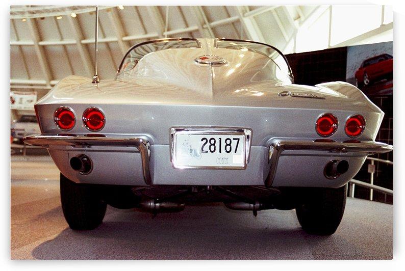 Corvette - 1963 Split Window Coupe - Bowling Green Kentucky by FoxHollowArt