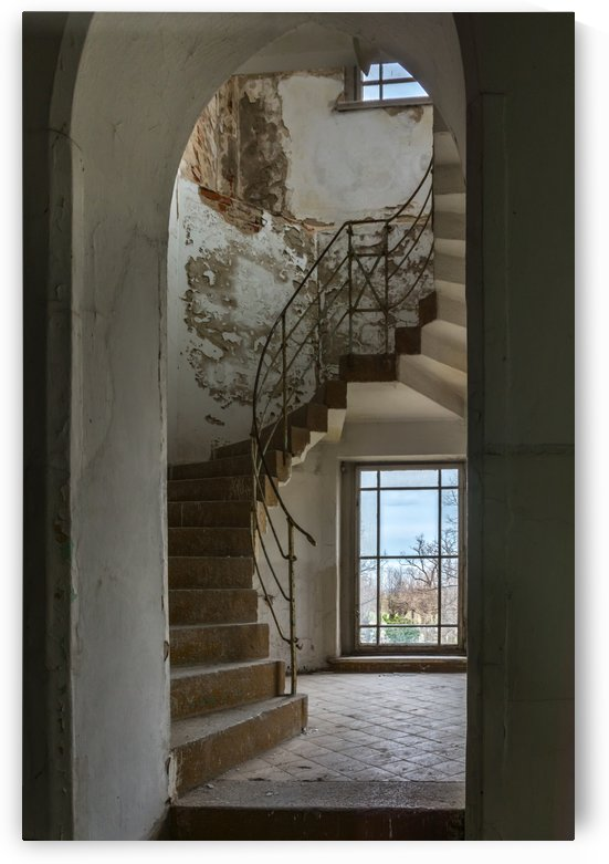 Bended Staircase by GreyShot