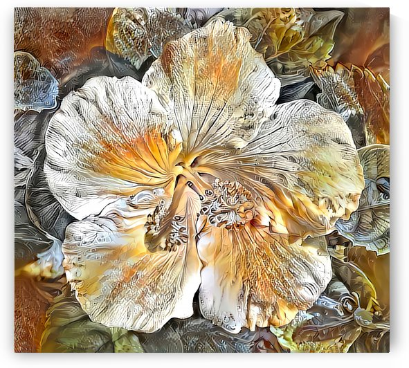Autumn Hibiscus by HH Photography of Florida