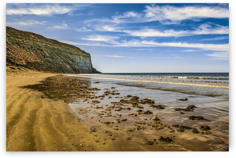 Rada Tilly Beach Chubut Argentina by Daniel Ferreia Leites Ciccarino