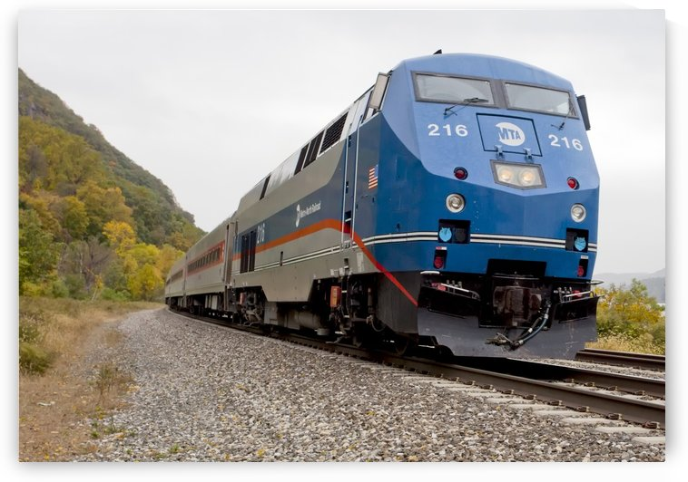 Metro North Genesis at Cold Spring by Eliot Scher