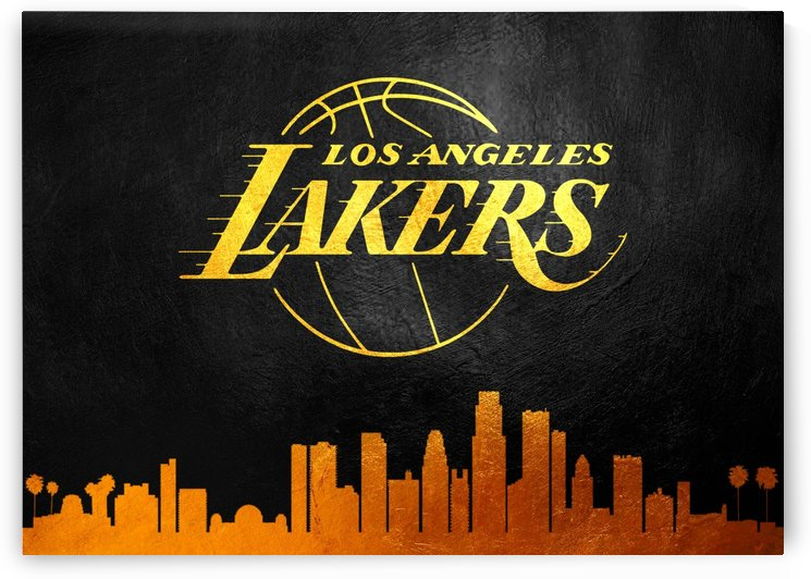 Los Angeles Lakers Skyline by ABConcepts
