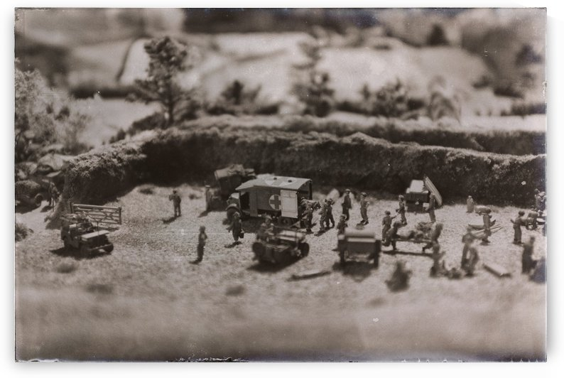 World War 2 Scene by Phillip Watson