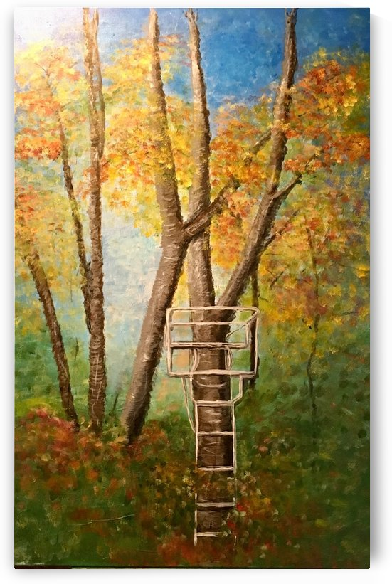 Tree Stand by H Lynn
